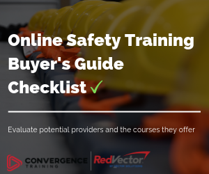 Vector Online Safety Training Buyer's Guide Checklist