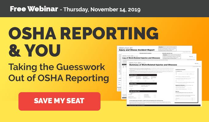 OSHA Reporting & You